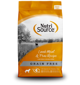 NutriSource NutriSource Dog Dry GF Lamb & Peas