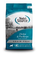 NutriSource NutriSource Dry Dog Food Chicken & Pea Recipe Grain Free