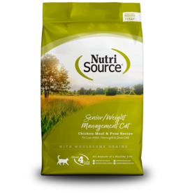 NutriSource NutriSource Cat Dry Senior/Weight Management