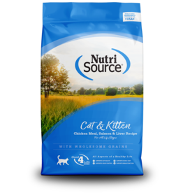 NutriSource NutriSource Cat Dry Cat & Kitten Chicken/Salmon/Liver