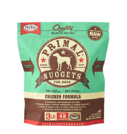 Primal Primal Dog Frozen Raw Chicken Nuggets 3lb