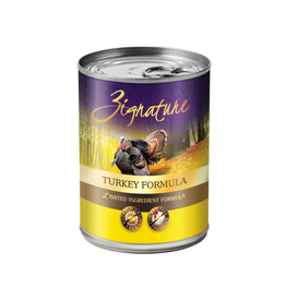 Zignature Zignature Dog Can Turkey 13oz