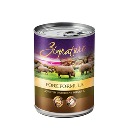 Zignature Zignature Dog Can Pork 13oz