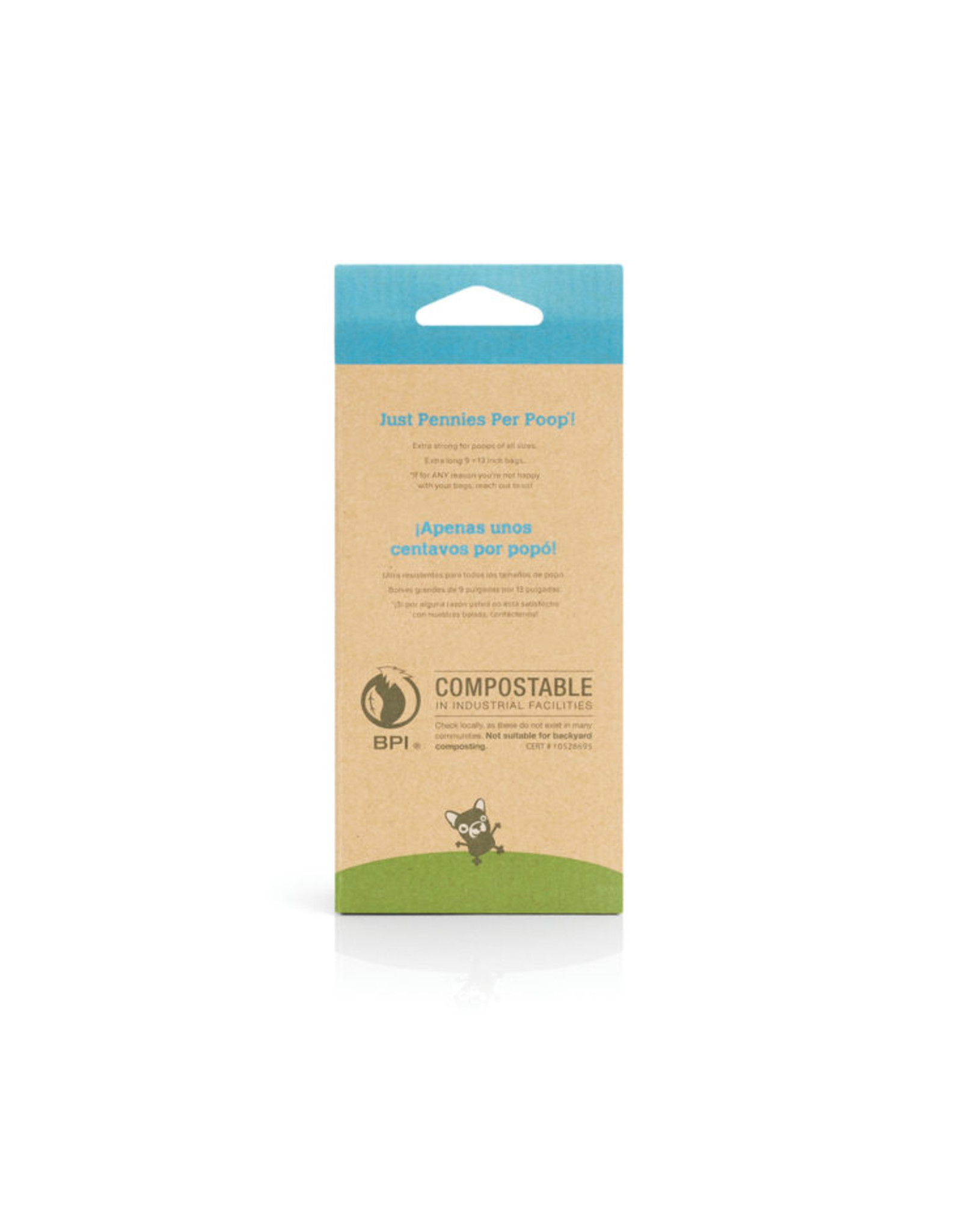 Earth Rated Earth Rated Certified Compostable Poop Bags 4 Rolls 60ct