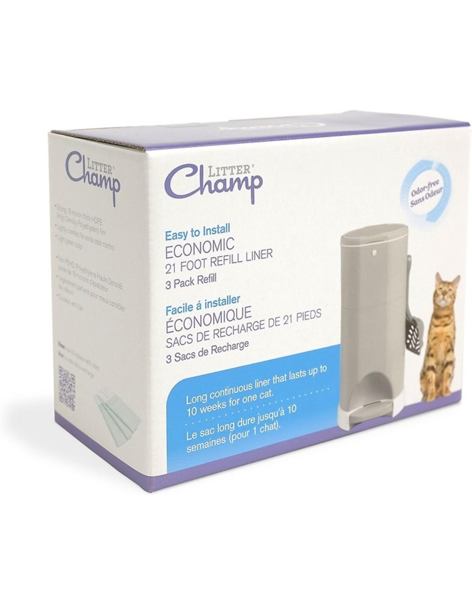 Litter Champ Litter Champ Refill Liners 1pk - 3pk