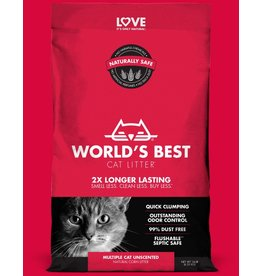 World's Best World's Best Cat Litter Multi Cat Unscented