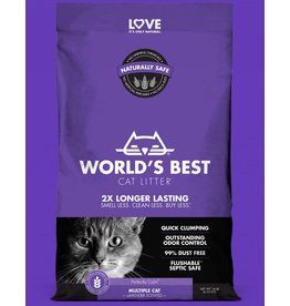 World's Best World's Best Cat Litter Multi Cat Lavender