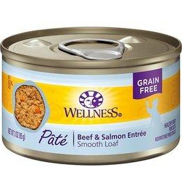 Wellness Wellness Cat Can Beef & Salmon Pate 3oz