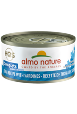 Almo Nature Almo Nature HQS Complete Wet Cat Food Tuna Recipe with Sardines in Gravy 2.47oz Can Grain Free