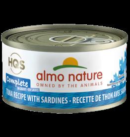 Almo Nature Almo Complete Cat Can Tuna Sardines 2.47oz