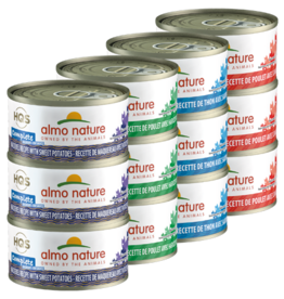 Almo Nature Almo Complete Cat Variety 12 Pack 2.47oz