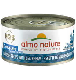 Almo Nature Almo Complete Cat Can Mackerel &  Sea Bream 2.47oz