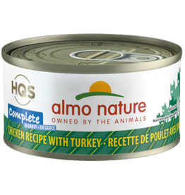 Almo Nature Almo Complete Cat Can Chicken & Turkey 2.8oz