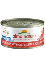 Almo Nature Almo Nature HQS Complete Wet Cat Food Chicken Recipe with Duck  in Gravy 2.47oz Can Grain Free