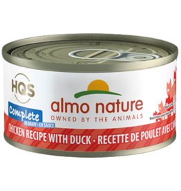Almo Nature Almo Complete Cat Can Chicken Duck  2.8 oz