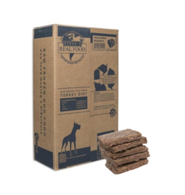Steve's Real Food Steve's Dog & Cat Frozen Raw Turkey Patties 13.5lb box