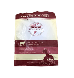 Steve's Real Food Steve's Dog & Cat Frozen Raw Beef Nuggets 5lb bag