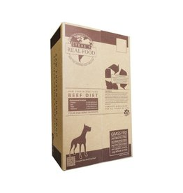 Steve's Real Food Steve's Dog & Cat Frozen Raw Beef Nuggets 9.75lb box
