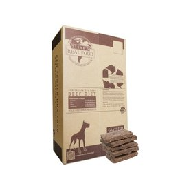 Steve's Real Food Steve's Dog & Cat Frozen Raw Beef Patties 13.5lb box
