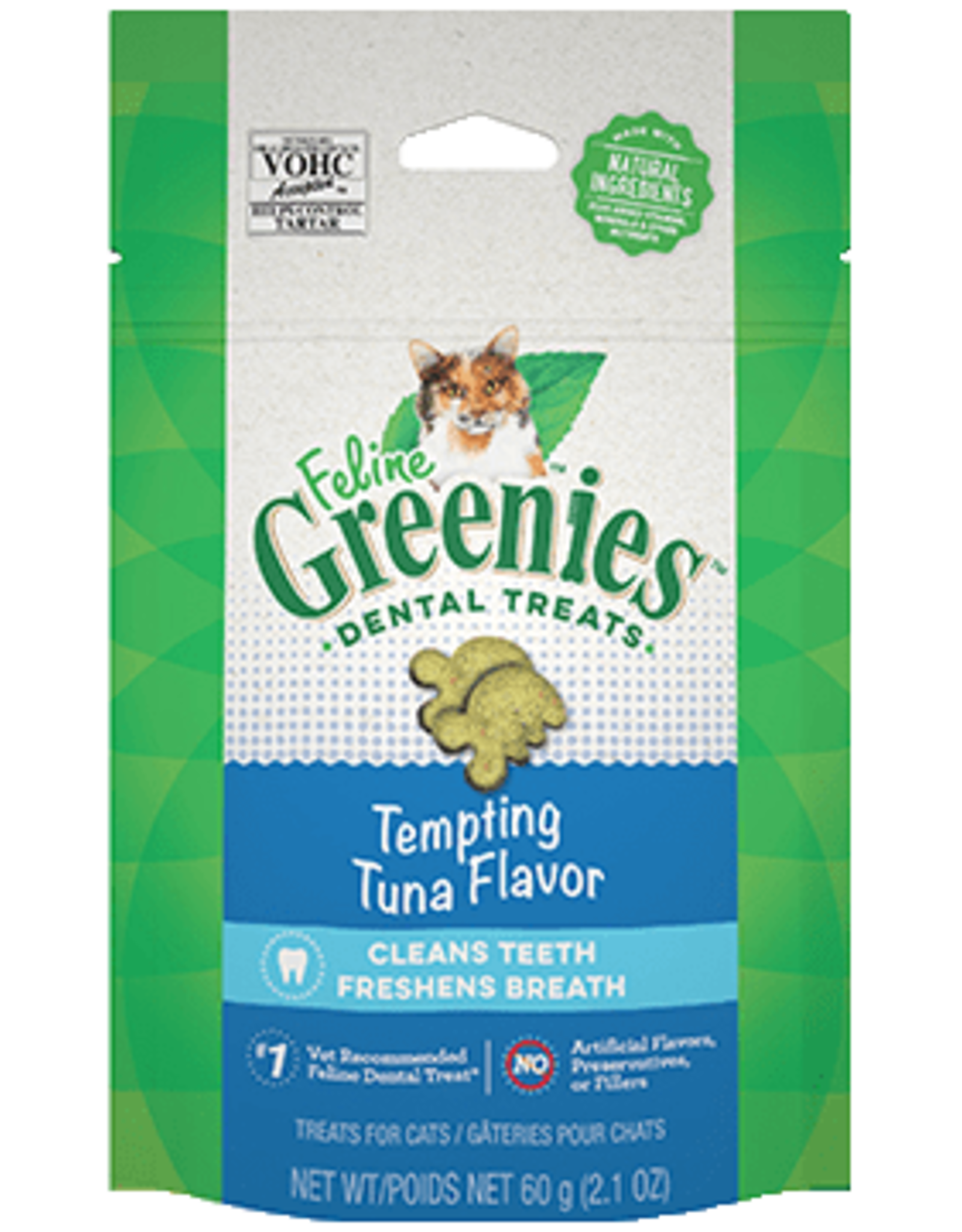 Greenies Feline Greenies Cat Dental Treats Tempting Tuna Flavor