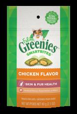 Greenies Feline Greenies Smartbites Cat Treats Skin & Fur Health Chicken Flavor 2.1oz