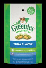 Greenies Feline Greenies Smartbites Cat Treats Hairball Control Tuna Flavor 2.1oz