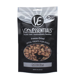 Vital Essentials VE FD Dog Treats Rabbit Bites 2oz