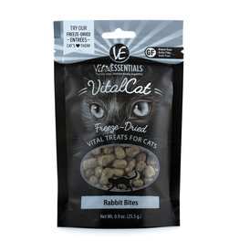 Vital Essentials VE FD Cat Treats Rabbit Bites .9oz