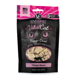 Vital Essentials VE FD Cat Treats Chicken Breast 1oz