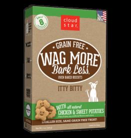 Cloud Star WMBL Itty Dog Biscuits Chicken & Sweet Potato GF 7oz