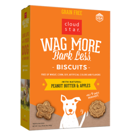 Cloud Star WMBL Dog Biscuits PB & Apples GF 14oz