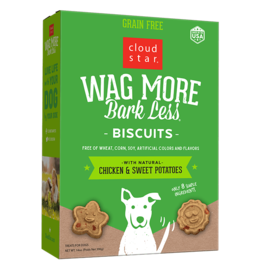 Cloud Star WMBL Dog Biscuits Chicken & Sweet Potato GF 14oz