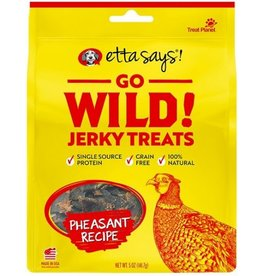 Treat Planet Etta Says Go Wild Jerky Pheasant 5oz