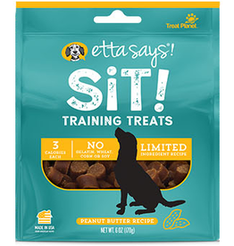 Treat Planet Etta Says Sit Training Treats Peanut Butter 6oz