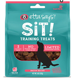 Treat Planet Etta Says Sit Training Treats Bacon 6oz