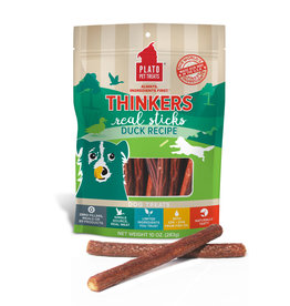 Plato Plato Dog Treats Thinkers Sticks Duck 10oz