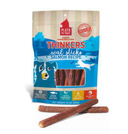Plato Plato Dog Treats Thinkers Sticks Salmon 10oz