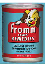 Fromm Fromm Wet Dog Food Remedies Digestive Support Supplement Whitefish Formula 12.2oz