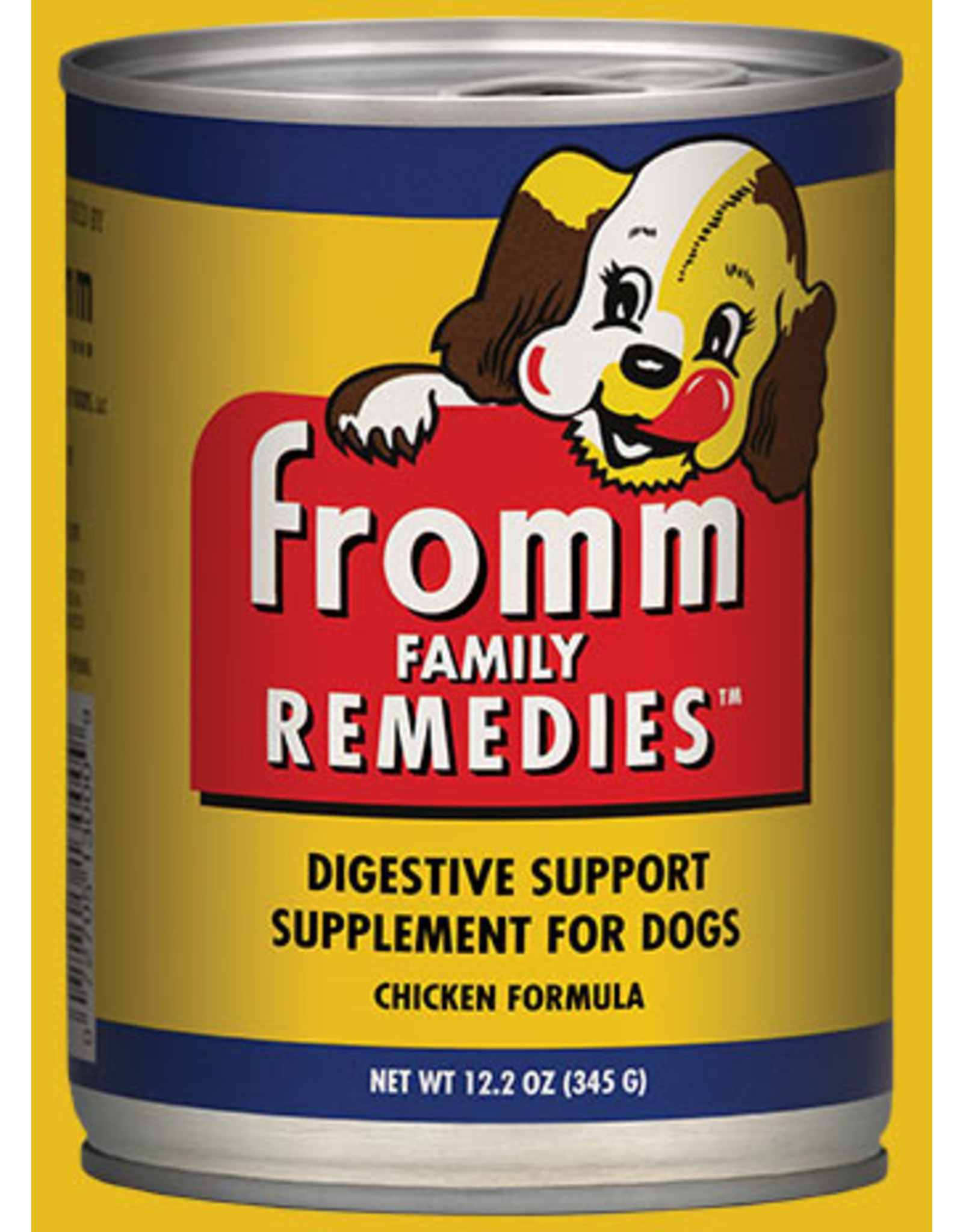Fromm Fromm Wet Dog Food Remedies Digestive Support Supplement Chicken Formula 12.2oz