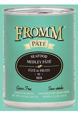 Fromm Fromm Wet Dog Food Seafood Medley Pate 12.2oz Can Grain Free