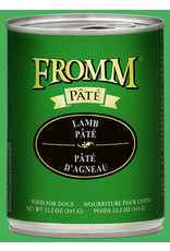 Fromm Fromm Wet Dog Food Lamb & Sweet Potato Pate 12.2oz Can Grain Free