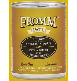 Fromm Fromm Dog Can Chicken Sweet Potato Pate 12.2oz