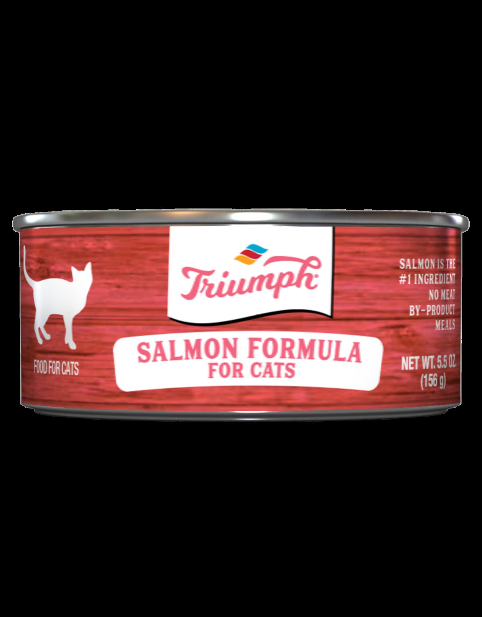 Triumph Triumph Wet Cat Food Salmon Formula 5.5oz Can