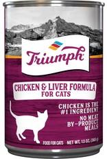 Triumph Triumph Wet Cat Food Chicken & Liver Formula 13oz Can