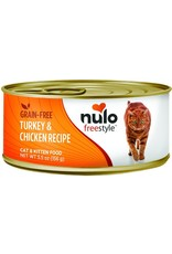 Nulo Nulo Freestyle Wet Cat Food Turkey & Chicken Recipe Pate 5.5oz Can Grain Free