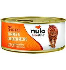 Nulo Nulo Cat Can Turkey & Chicken Pate 5.5oz