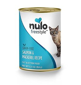 Nulo Nulo Cat Can Salmon & Mackerel Pate 12.5oz