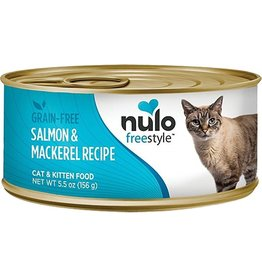 Nulo Nulo Cat Can Salmon & Mackerel Pate 5.5oz
