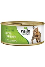 Nulo Nulo Freestyle Wet Cat Food Duck & Tuna Recipe Pate 5.5oz Can Grain Free