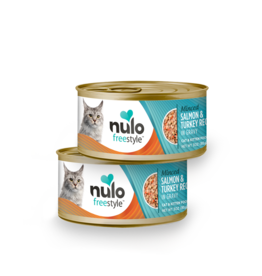 Nulo Nulo Cat Can Minced Salmon & Turkey 3oz